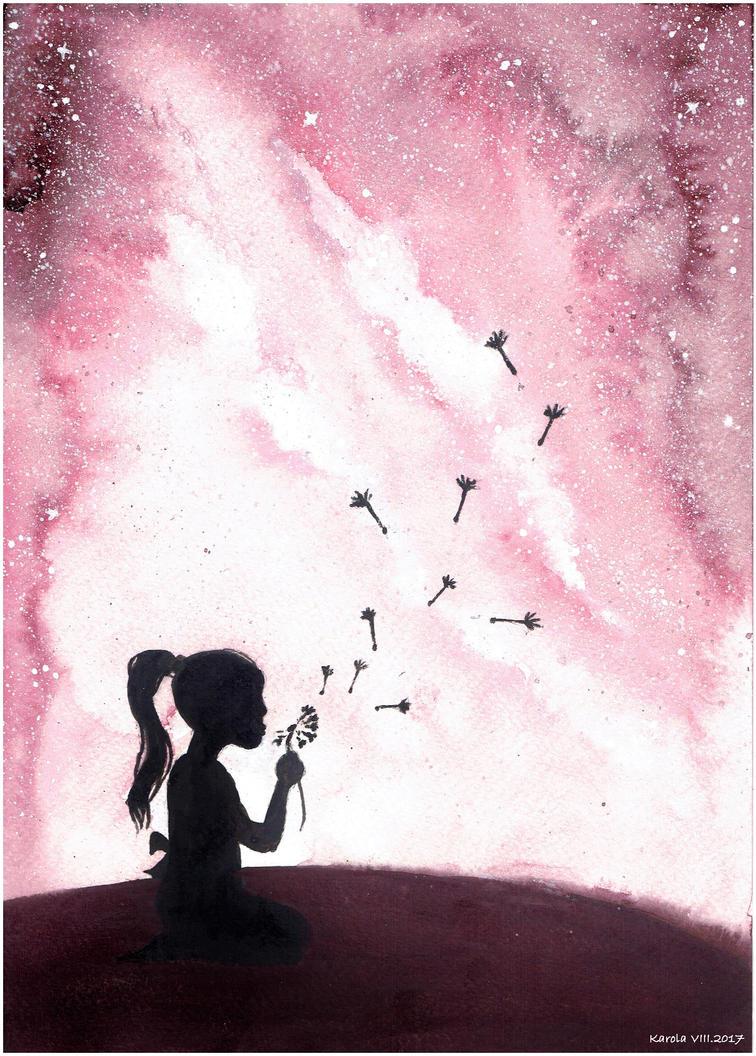 Dandelion by Carolineys