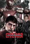 Captain America-Civil War Team Iron Poster RELOADE