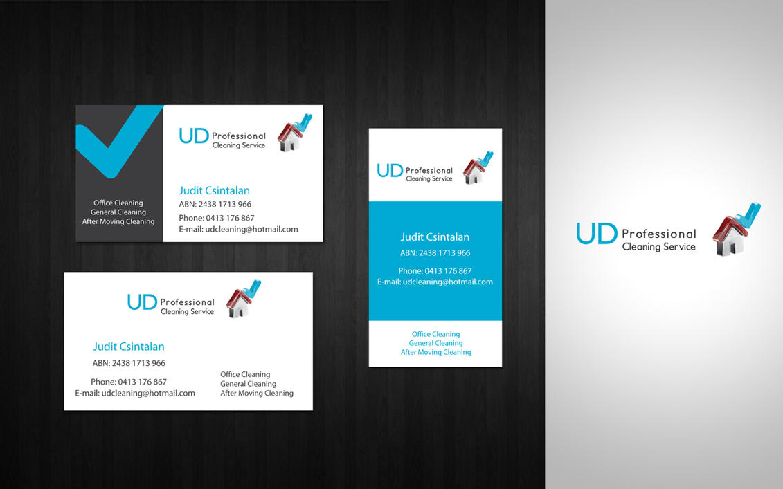 Logo business card by amaru7 on DeviantArt