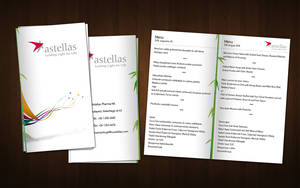Menu card V1 by amaru7