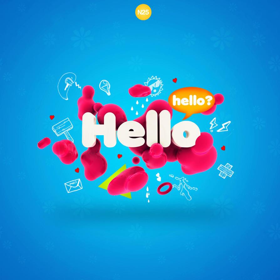 Hello by 123zion456