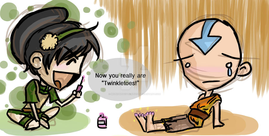 Twinkle, Mr. Toes by MidnightAvatArtist8
