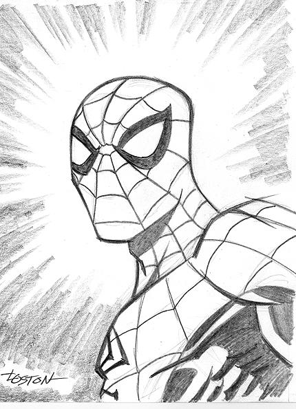 Spider-Man Sketch By LostonWallace On DeviantArt