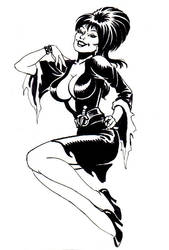 ELVIRA, Hostess with  the Most by LostonWallace