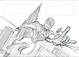 SPIDER-MAN 3 Layout by LostonWallace