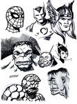 Classic Marvel Sketches