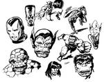 Classic Marvel Sketches 2