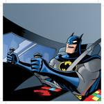 BATMAN:RAC Inside Batmobile