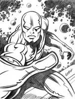 Silver Surfer by LostonWallace