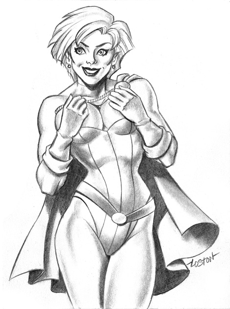 Power Girl 2.0 by LostonWallace