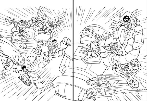 super friends coloring pages. Super Friends In Action by LostonWallace  on DeviantArt