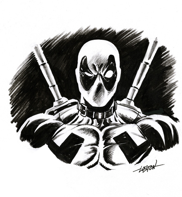 Really Cool Deadpool Illustrations