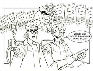 Ghostbusters by LostonWallace