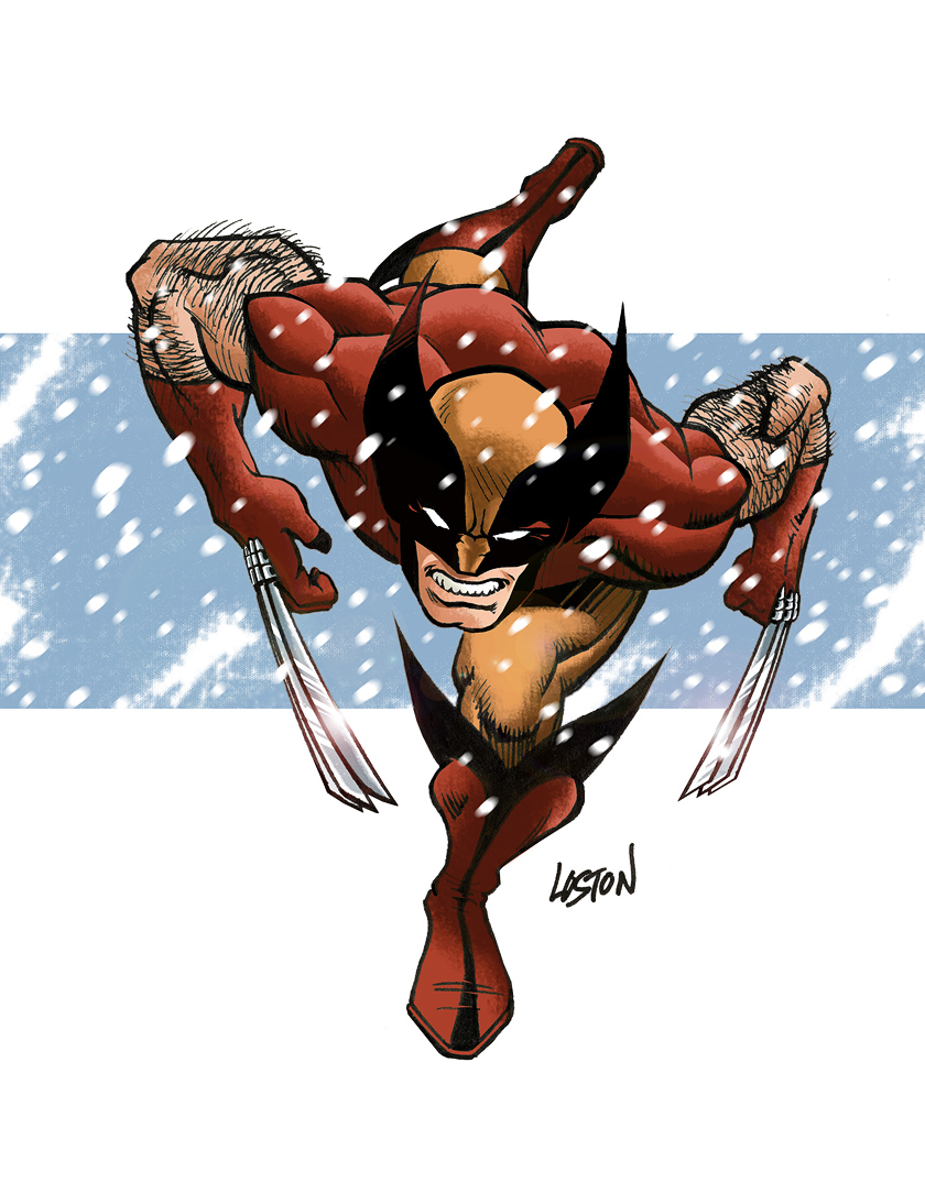 Wolverine Recolored by LostonWallace