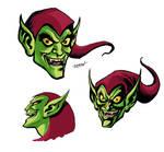 Green Goblin Heads