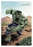 Green Hulk Will Smash by LostonWallace