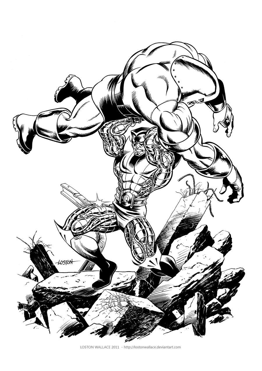 marvel juggernaut coloring pages - photo#32
