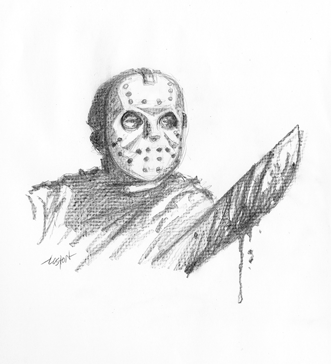 Friday 13th Jason Voorhees by LostonWallace on DeviantArt Jason Friday The 13th Drawings