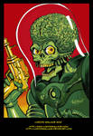 Mars Attacks Sketch in Color