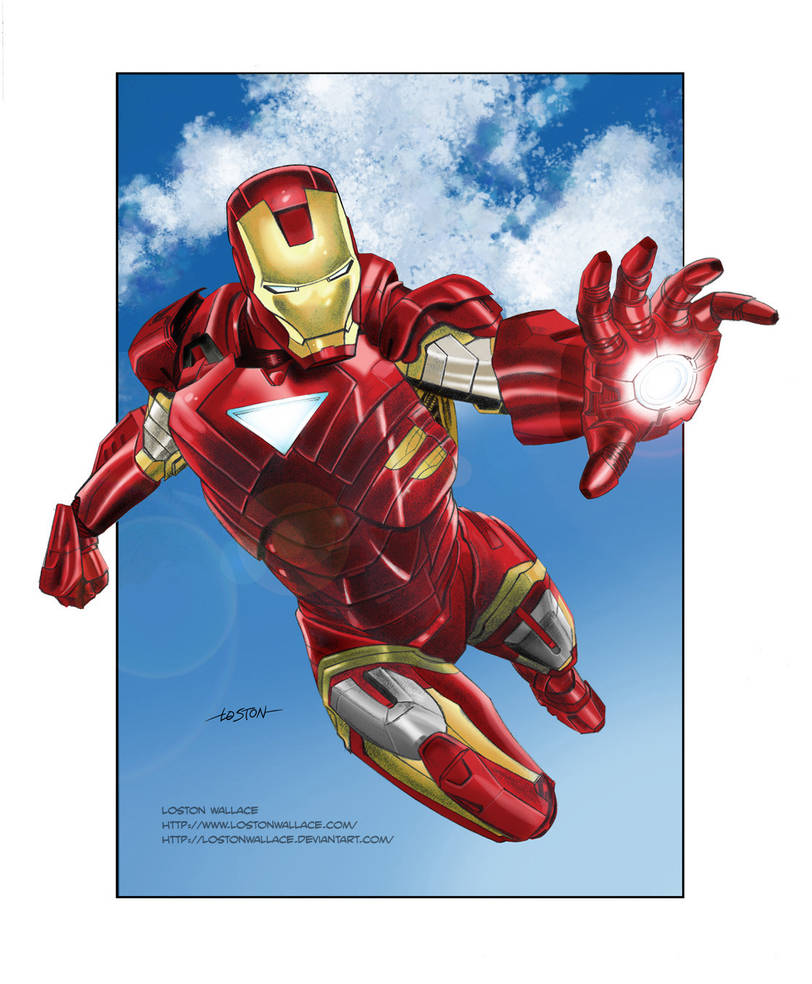 Iron Man Commission Color by LostonWallace