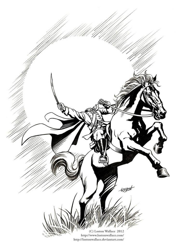 Headless Horseman of Sleepy Hollow by LostonWallace on
