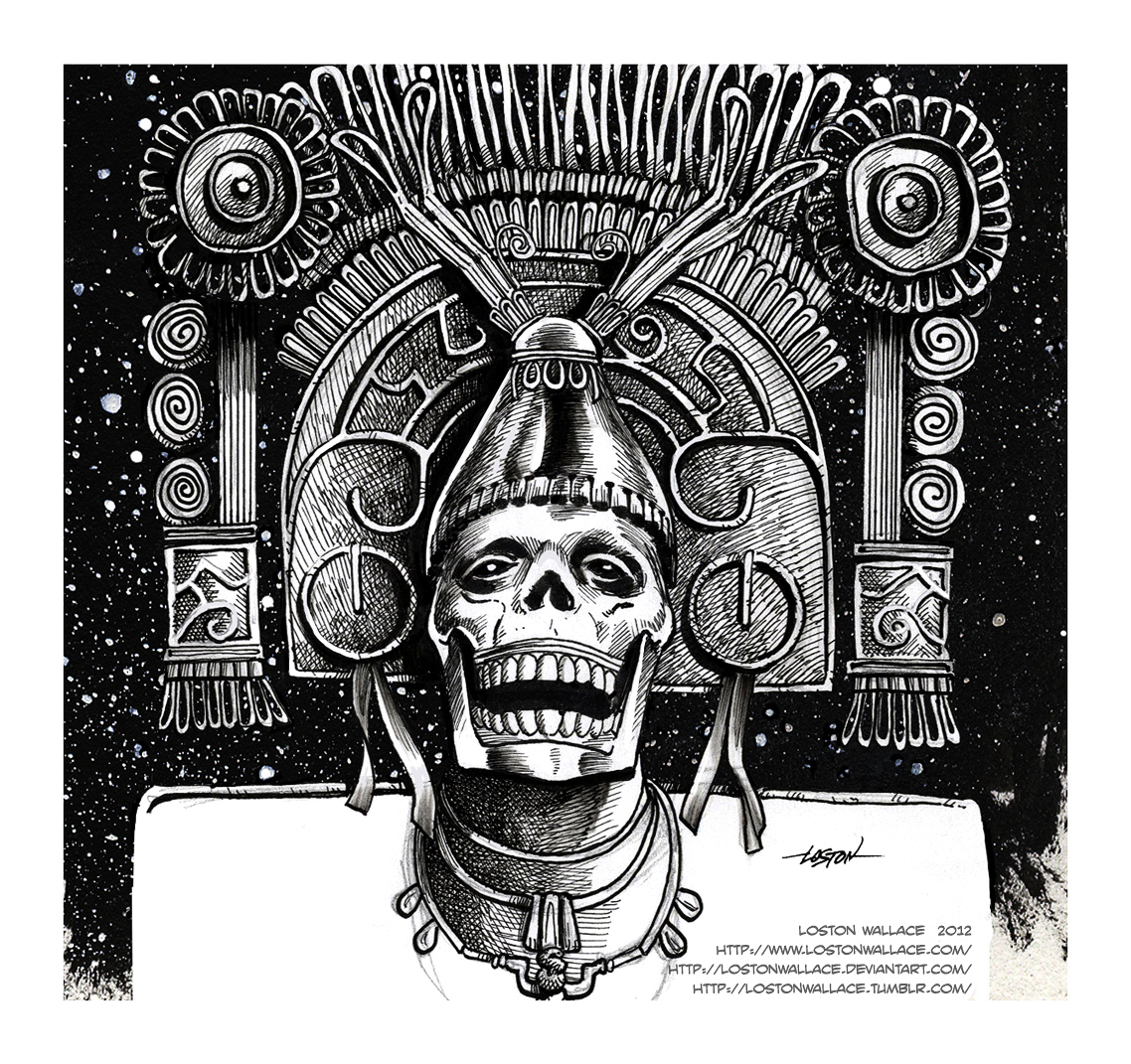 Ah-Puch  Mayan God of ...