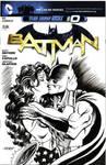 Batman and Wonder Woman Cover Sketch
