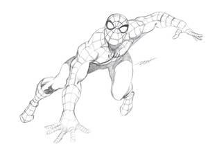 Spider-Man Pencils