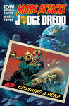 Mars Attacks Judge Dredd #1 Complete cover