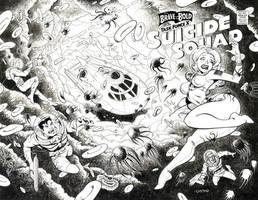 SUICIDE SQUAD COMMISSION #4 by LostonWallace