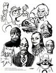Sketches: Liono Snarff Orko and Innsmouth