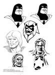 sketches: Space Ghost Thundarr Ookla Sgt Zero