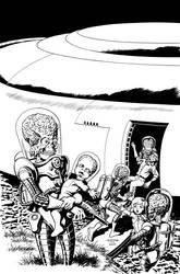 MARS ATTACKS: FIRST BORN #3 Cover