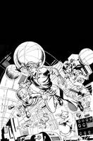 MARS ATTACKS: FIRST BORN #4 Cover by LostonWallace