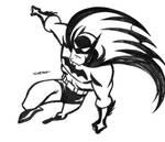 Batman Preliminary Sketch