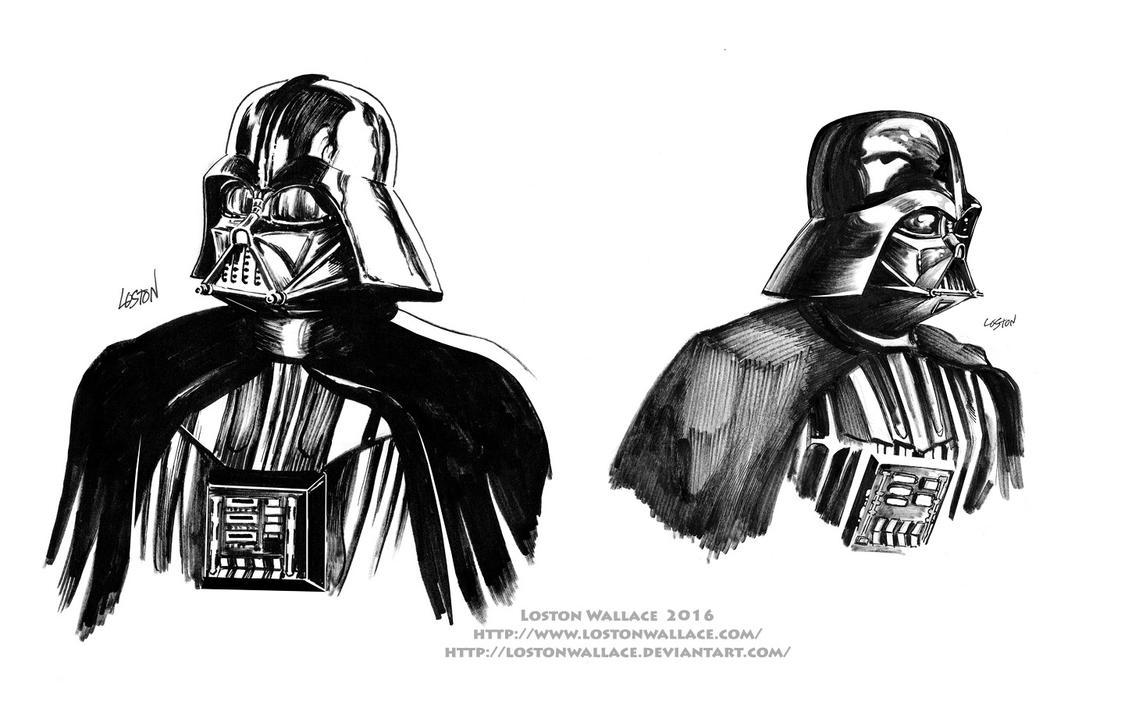 2 Darth Vaders by LostonWallace
