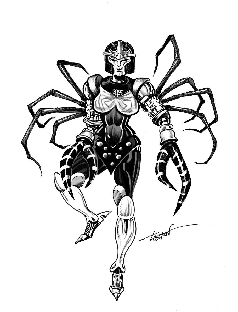 Transformers Beast Wars: Black Arachnia by LostonWallace