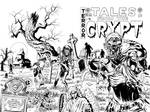 TALES FROM THE CRYPT ZOMBIE COVER COMMISSION