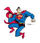 Superman Color Graphic