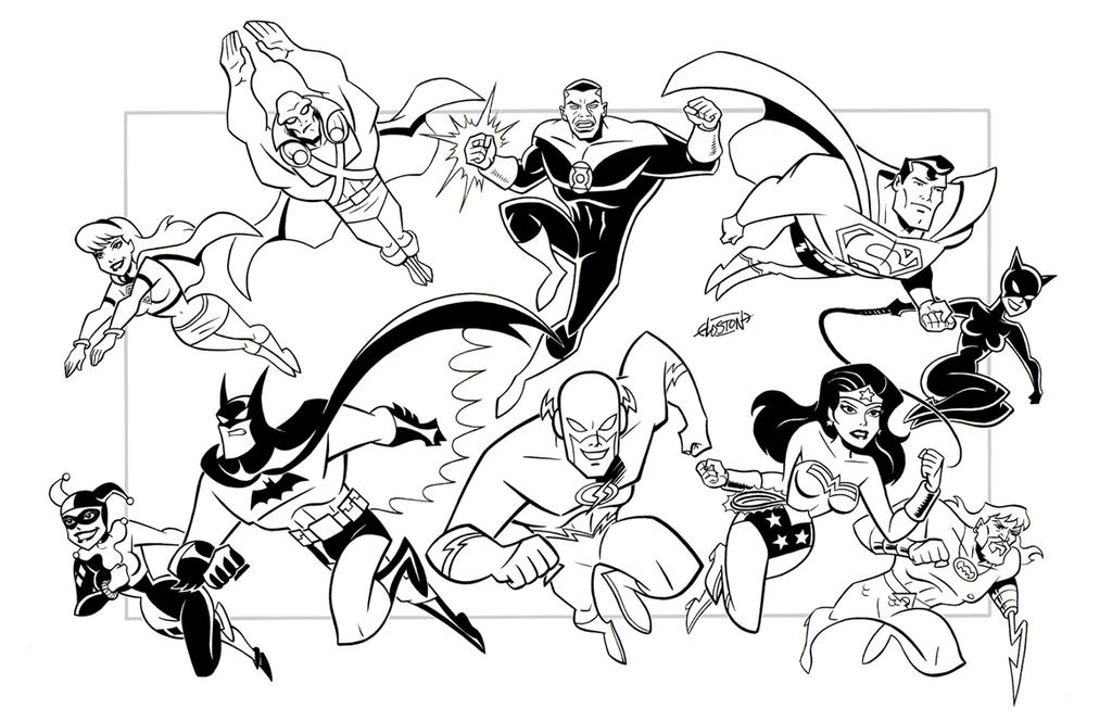 Justice League 2 Commission By LostonWallace On DeviantArt