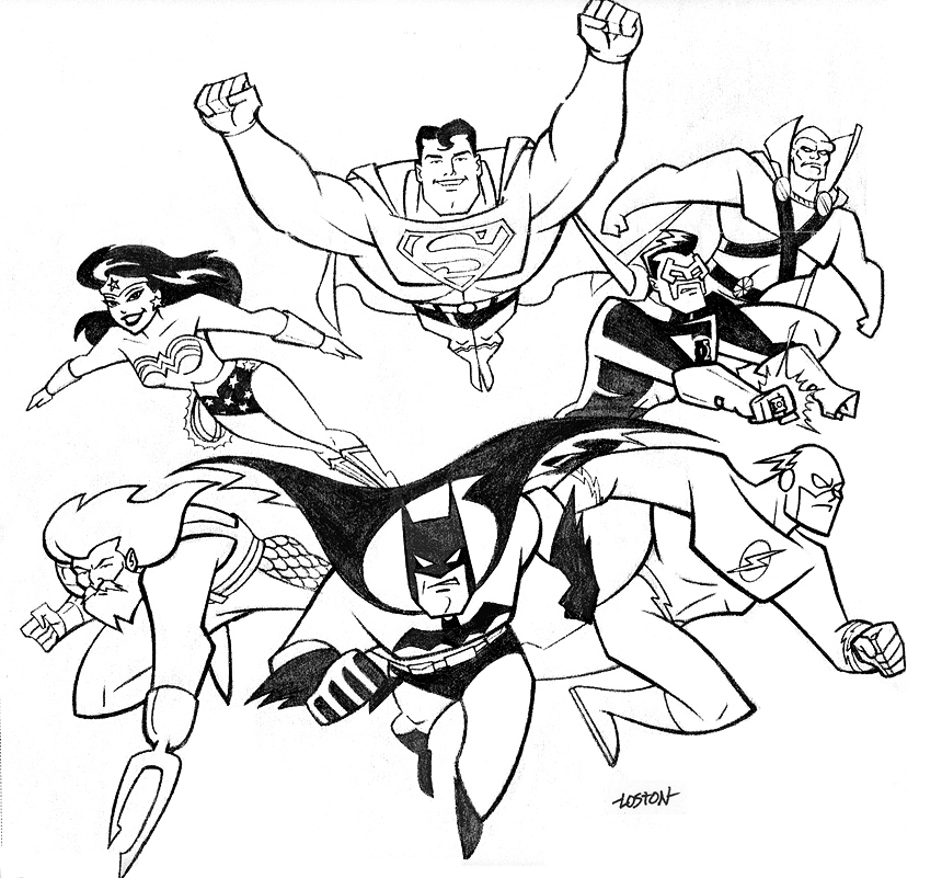 Justice League Cover by LostonWallace on DeviantArt
