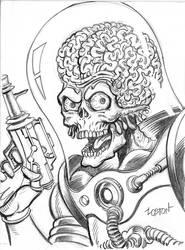 Mars Attacks Sketch by LostonWallace