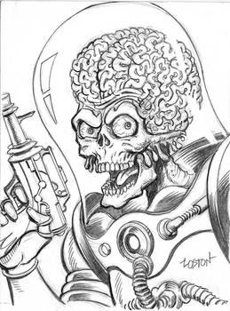 Mars Attacks Sketch