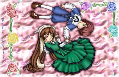 Rozen Maiden - Seki Twins