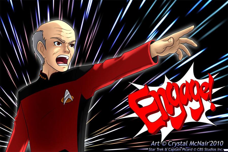 Deviantart Starfleet Captains Tylan Schan: Engage By Kojichan On DeviantArt