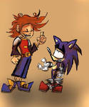 Chris And Sonic