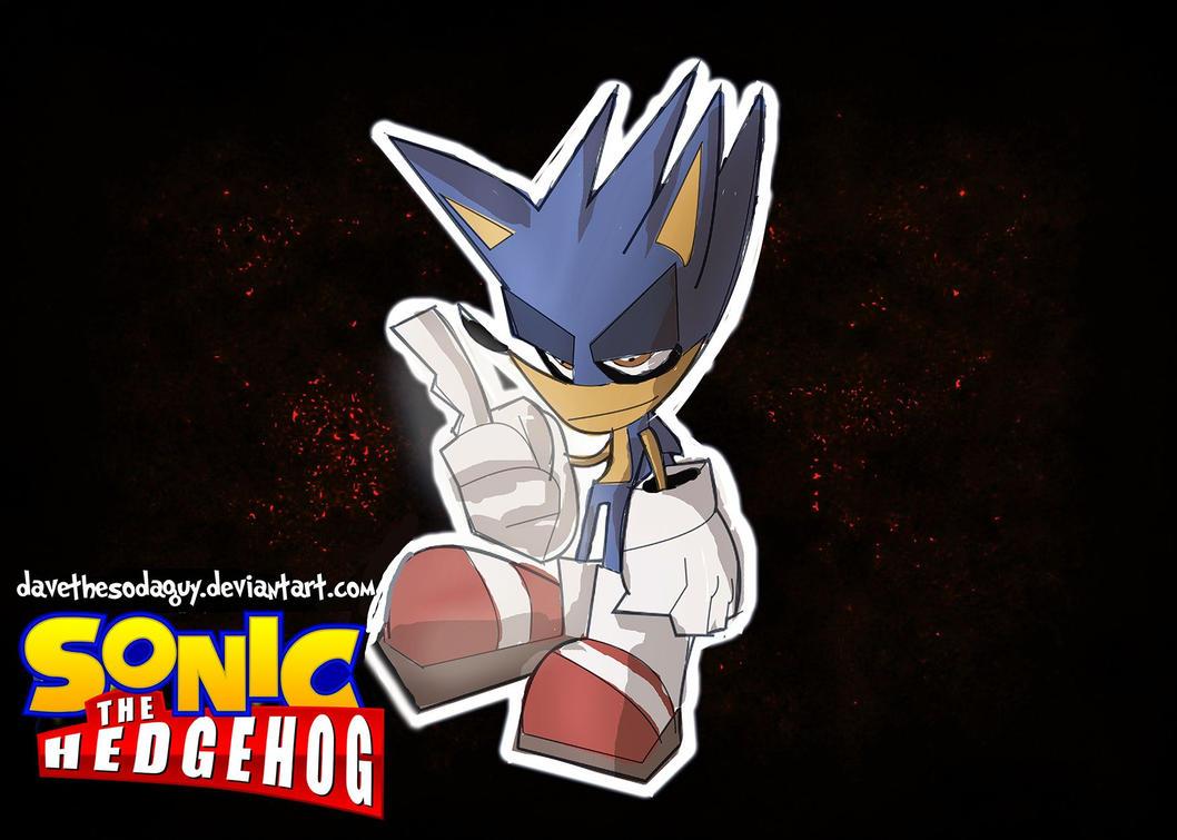 Inktober - Sonic The Hedgehog by DaveTheSodaGuy