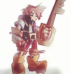 Sora - Kingdom Hearts by DaveTheSodaGuy