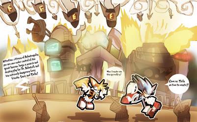 Sonic Heat N Fire 2 - Robotropolis Under Fire Zone by DaveTheSodaGuy