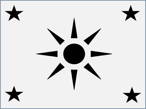 Humanite Dominion Flag V. 1